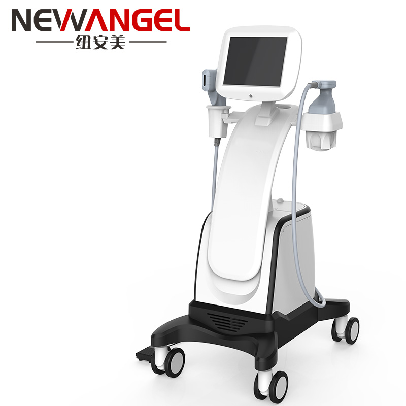 Hifu four cartridges body weight loss face lift machine FU18