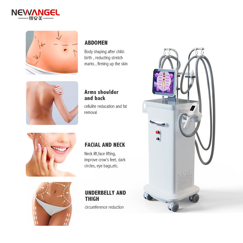 vacuum-rollers massage Professional body contouring cellulite removal RF