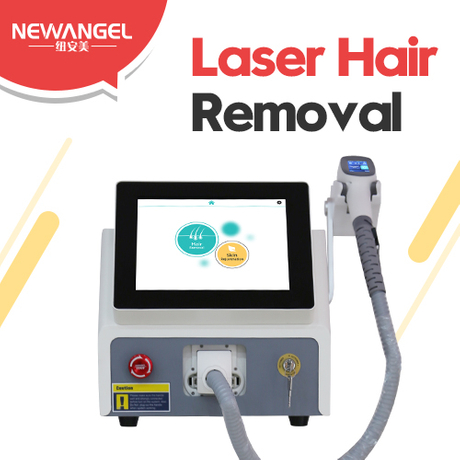 Laser machine for removing hair precise painless permanent