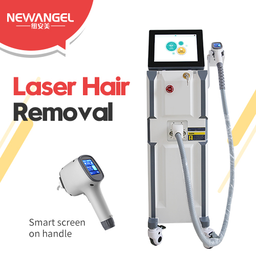 Laser hair removal medical grade machine double cooling system