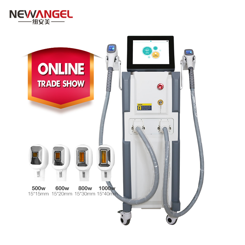 Best laser for laser hair removal machine 755 808 1064nm triple wavelengths