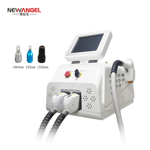 Nd yag laser q switch tattoo removal machine diode laser hair removal professional multifunction skin rejuvenation New design