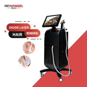 Diode Hair Removal Laser Machine Micro Channel 1064 755 808nm 3 Wavelength Ce Approved Painless Hair Removal