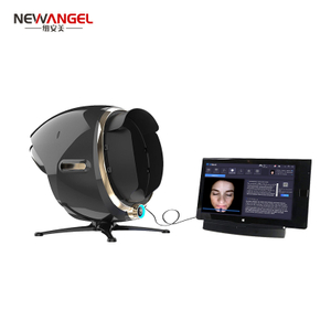 facial skin analyzer Digital Mirror Portable Facial Magic Magnifier Face 3D Beauty skin test machine