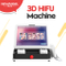 3d beauty hifu machine with two modes operation