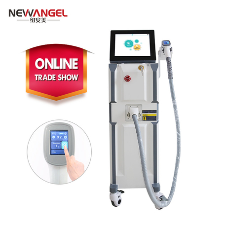 Hair follicle removal diode laser machine three wavelength 755/808/1064nm
