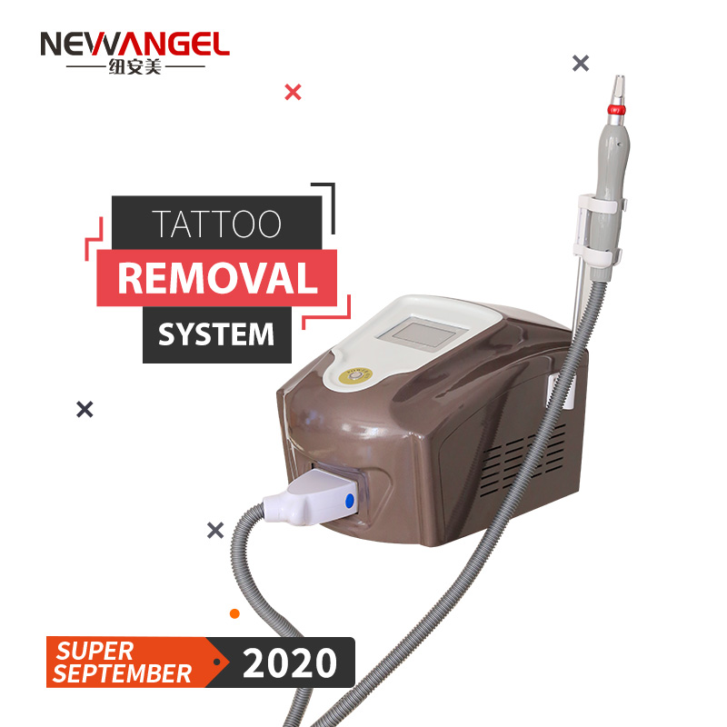 Tattoo removal on dark skin laser machine pigment removal