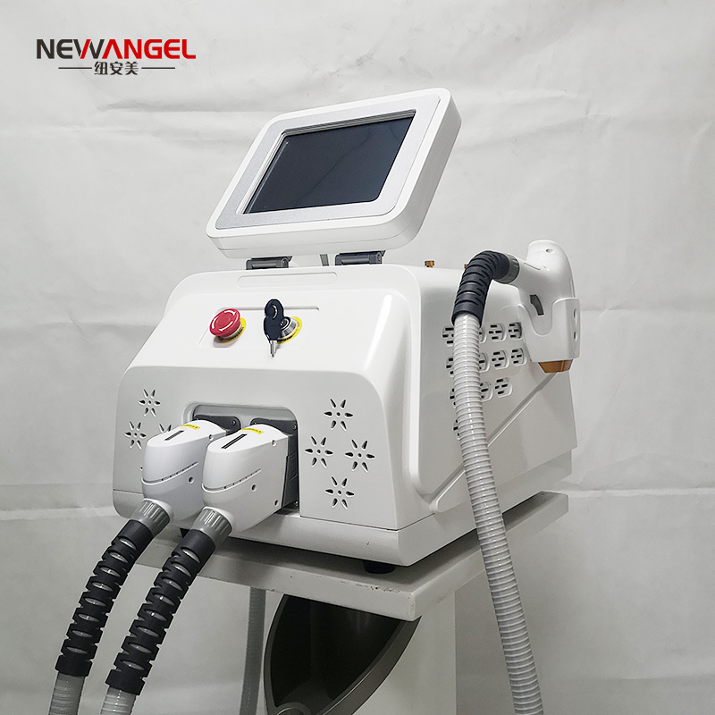 ND yag laser tattoo removal machine professional carbon peeling 2 in 1 portable diode laser hair removal