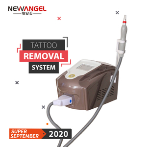 Easiest tattoos to remove machine medical q-switch nd yag laser