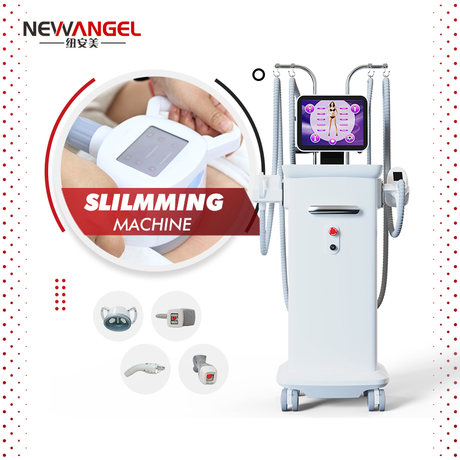 facial lifting fat loss body shaping spa infrared rf roller massage slim machine velashape with 4 handles