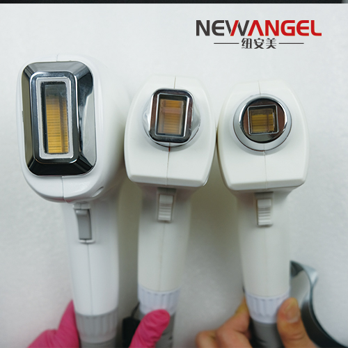 Permanent hair removal via laser 3 wavelengths all color use