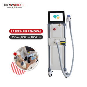 808 Diode Laser Hair Removal Machine Diode Laser 3 Waves Touch Screen Skin Rejuvenation