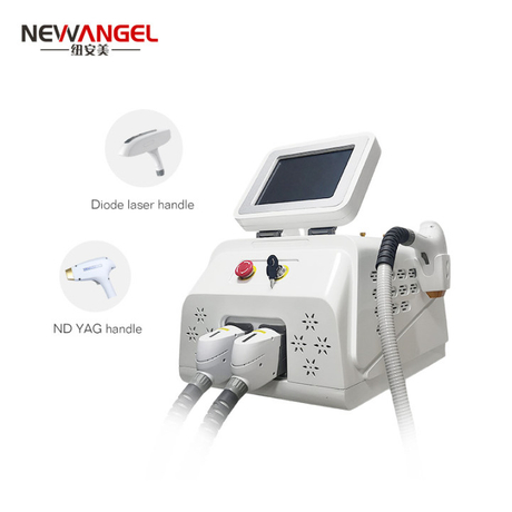 Laser hair removal machine q switch nd yag laser tattoo removal salon clinic beauty