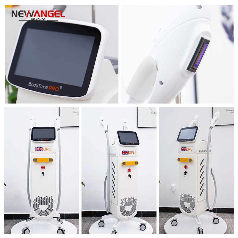 multi function ipl IN Stock beauty clinic CE LOGO ODM OEM Customized Painless Permanent Hair Removal Laser