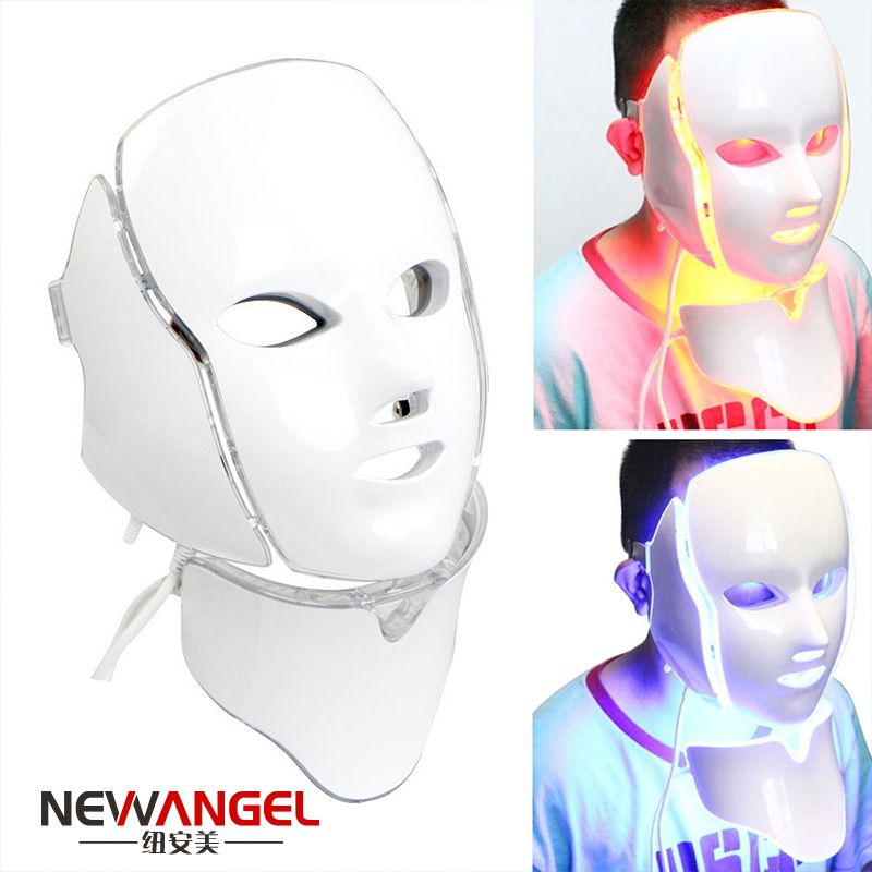 7 Colors 7 Functions LED Therapy Facial Wholesale Latest Anti Skin Allergic for Skin Rejuvenation