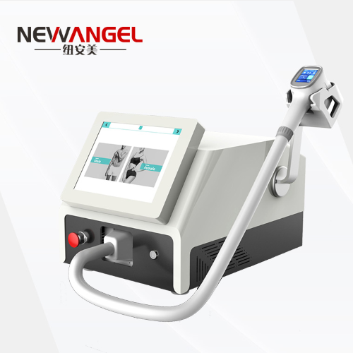 Removal hair laser machine with 3 wavelength all skin use