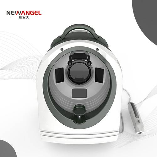 Newangel 3d magic mirror skin analyzer machine in stock now