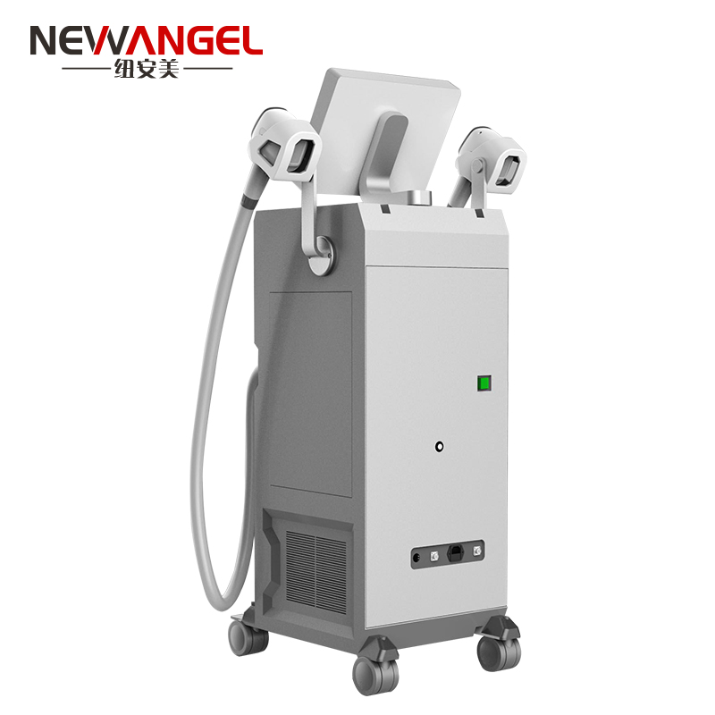 High power big spot 2 handles laser hair removal machine cost
