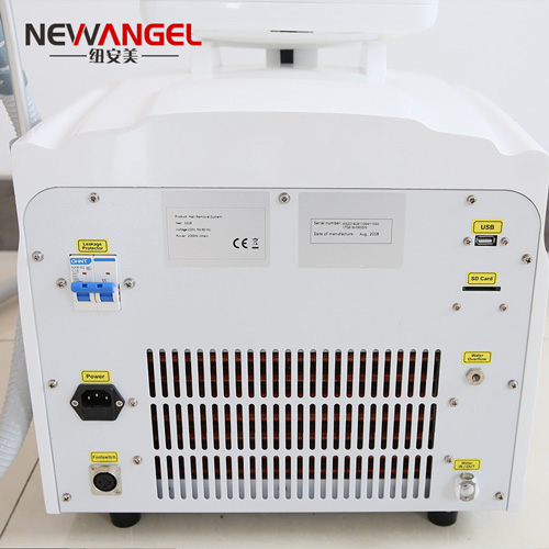 808nm diode laser skin hair removal machine