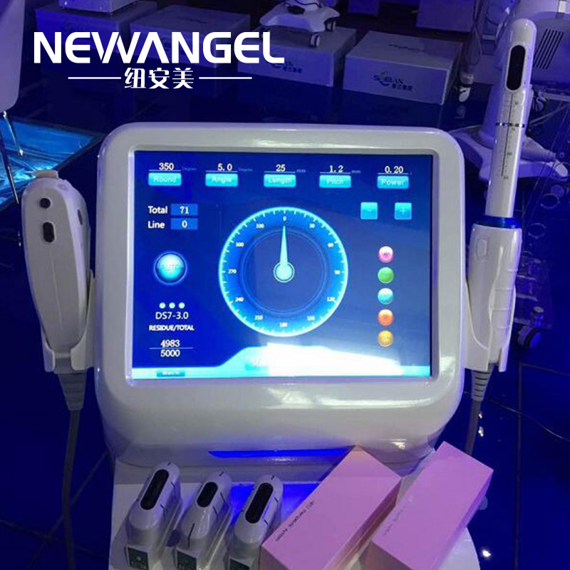 Vaginal hifu treatment machine for sale 3 in 1 multifunction