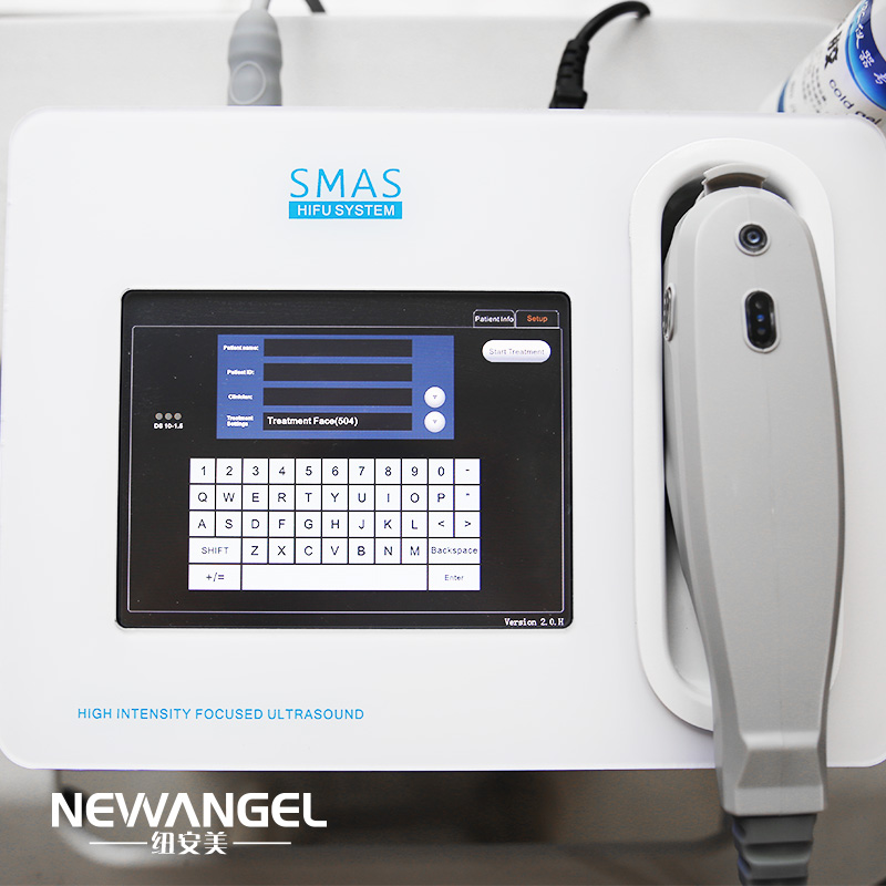 HIFU facelift machine for home use smas layer