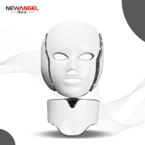 LED Light Therapy Face And Neck Led Machine Newest Non Invasive Skin Rejuvenation Facial Care Colorful