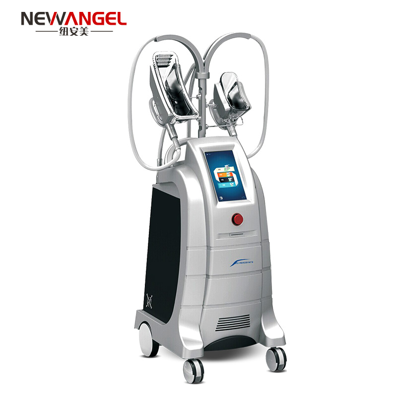 4 handles easy operation fat reduction cryolipolysis machine price
