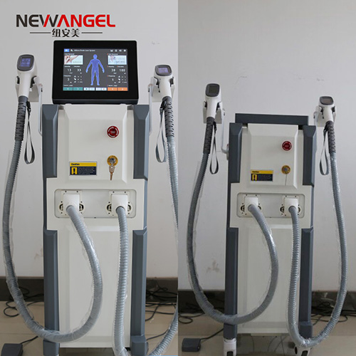 Professional laser hair removal machine with Coherent laser bars