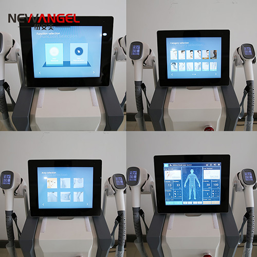 Best laser hair removal machine for spa 2 handles quickly treatment