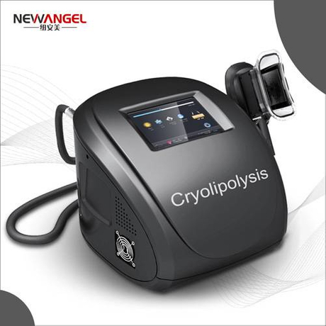 Easy use cryolipolysis machine for home use
