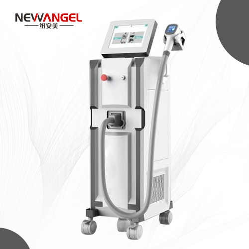 Laser hair removal machine professional price with 2 handles