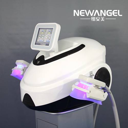 Portable cryolipolysis machine double handle fat reduction CR9
