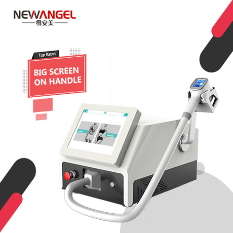 Portable easy operation face laser hair removal machine