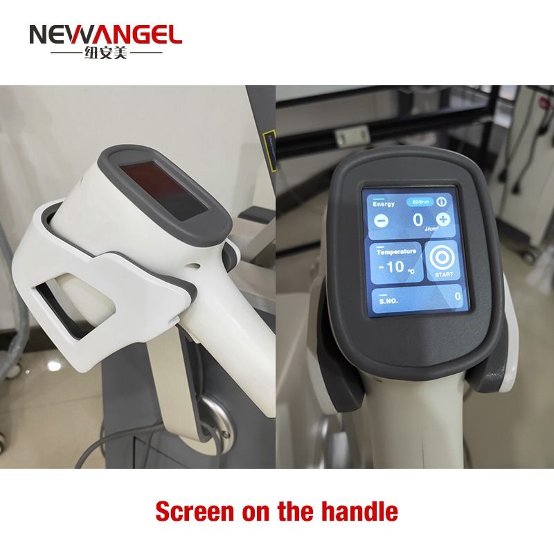 Professional 2 handles laser hair removal machines for sale