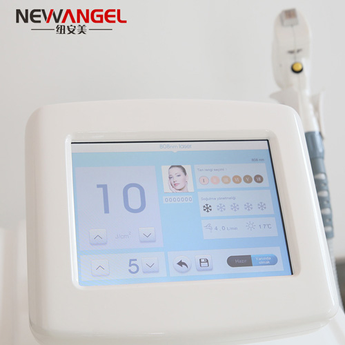 Clinical laser hair removal machines with 3 wavelength